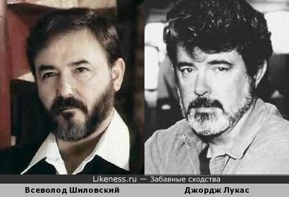 Всеволод Шиловский в этом образе напомнил Джорджа Лукаса