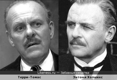 Терри-Томас и Энтони Хопкинс
