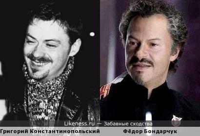 Усатые режиссёры: Григорий Константинопольский и Фёдор Бондарчук