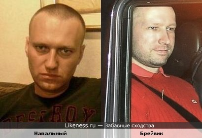 Навальный и Брейвик - братья