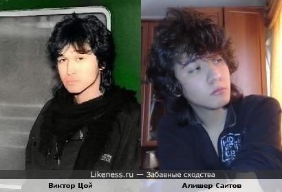 два рок музыканта очень похожи...