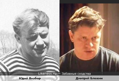 Дмитрий Блохин похож на Юрия Визбора