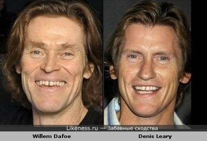 Willem Dafoe и Denis Leary