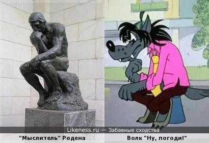 Мыслитель на Likeness.ru / Лучшие сходства в начале