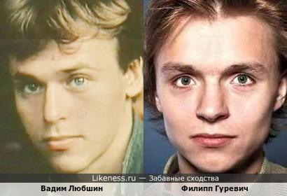 Актеры похожие на любшина фото