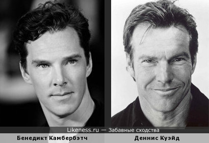 Бенедикт Камбербэтч (Benedict Cumberbatch) и Деннис Куэйд (Dennis Quaid)