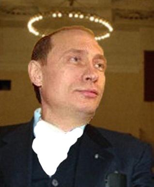 Image result for путин в нимбе