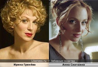 Анна снаткина на Likeness.ru / Лучшие сходства в начале Габриэла Дуарте 2013