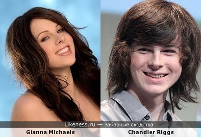 giana michels looks like chandler riggs