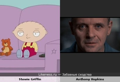 Stewie Griffin vs Anthony Hopkins