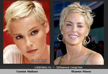 Connie Nielson vs. Sharon Stone
