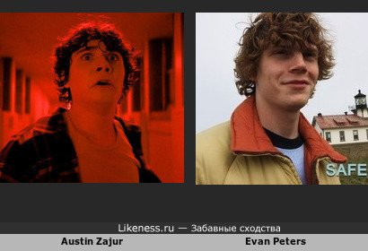 Austin Zajur напоминает Evan Peters