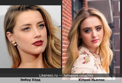 Эмбер хёрд на Likeness.ru / Новые сходства в начале Новая Жена Джонни Деппа