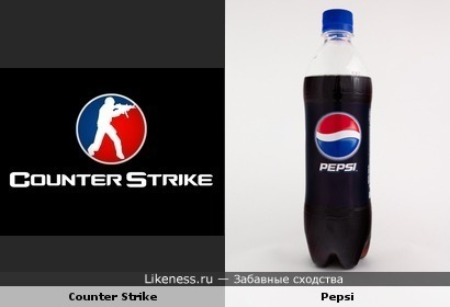 Логотип Counter Strike напоминает Pepsi