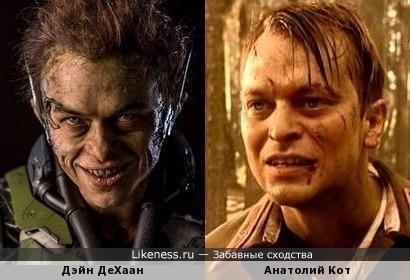 Гоблин и человек паук актеры бандитский петербург коля ваня актер